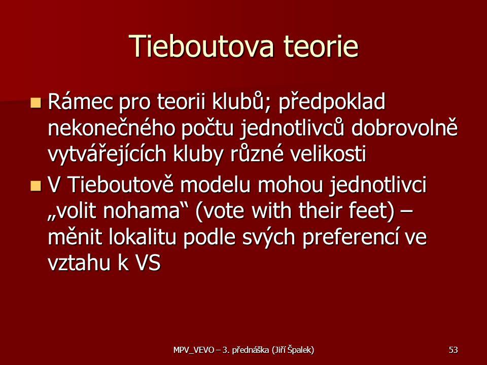 MPV_VEVO – 3. přednáška (Jiří Špalek)