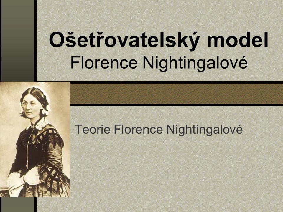 Ošetřovatelský model Florence Nightingalové