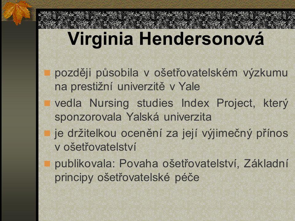 Virginia Hendersonová