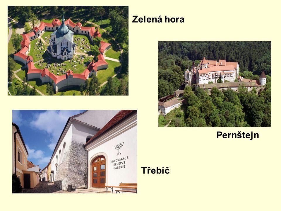 Zelená hora Pernštejn Třebíč