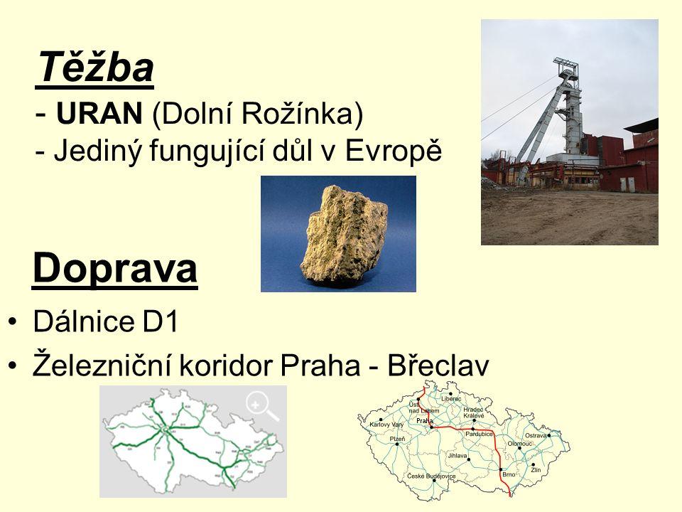 Těžba Doprava - URAN (Dolní Rožínka) - Jediný fungující důl v Evropě