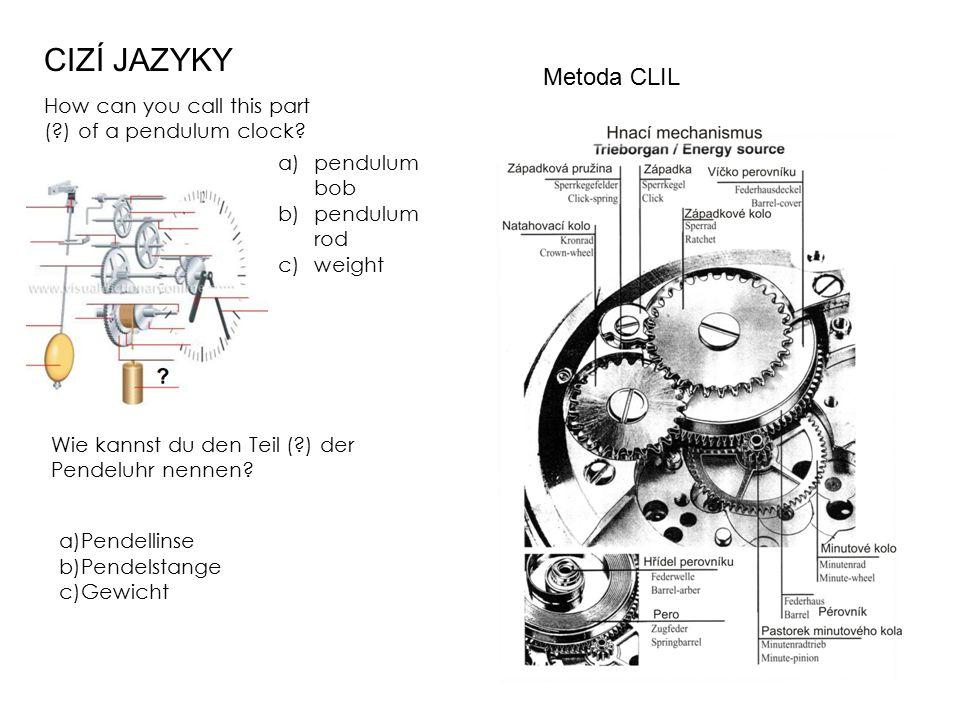 CIZÍ JAZYKY Metoda CLIL