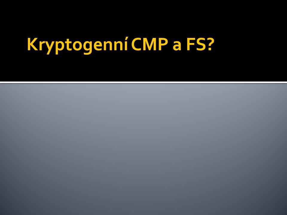 Kryptogenní CMP a FS