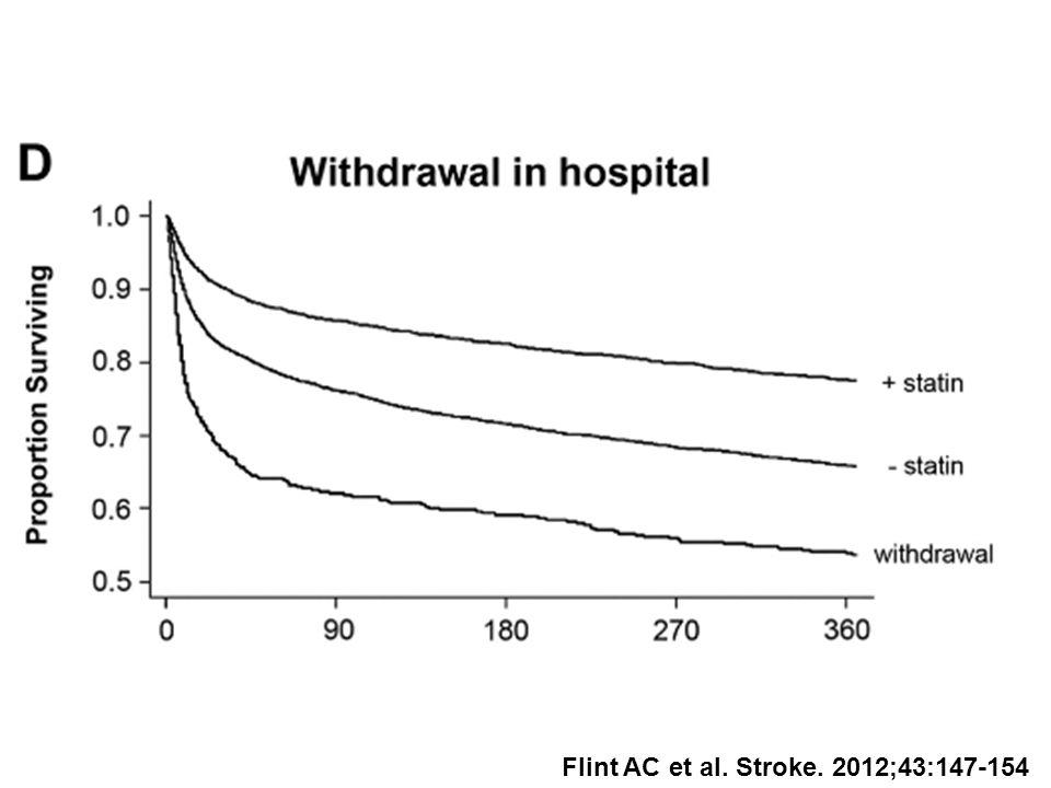 Flint AC et al. Stroke. 2012;43:147-154