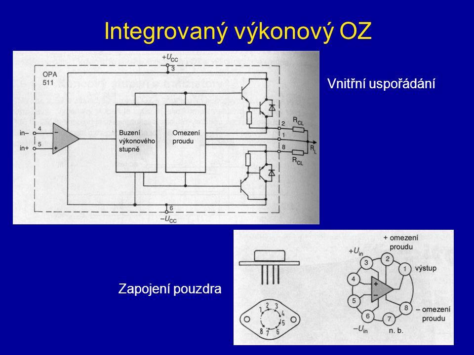 Integrovaný výkonový OZ
