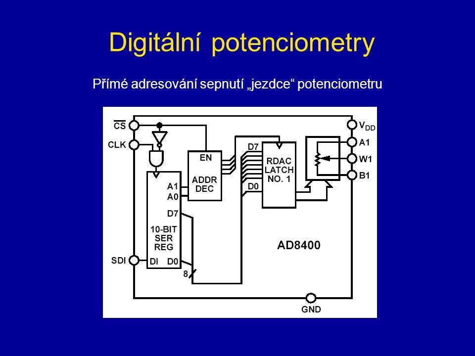 Digitální potenciometry