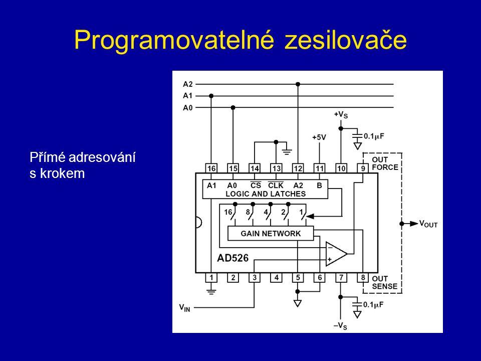 Programovatelné zesilovače