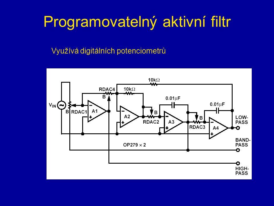 Programovatelný aktivní filtr
