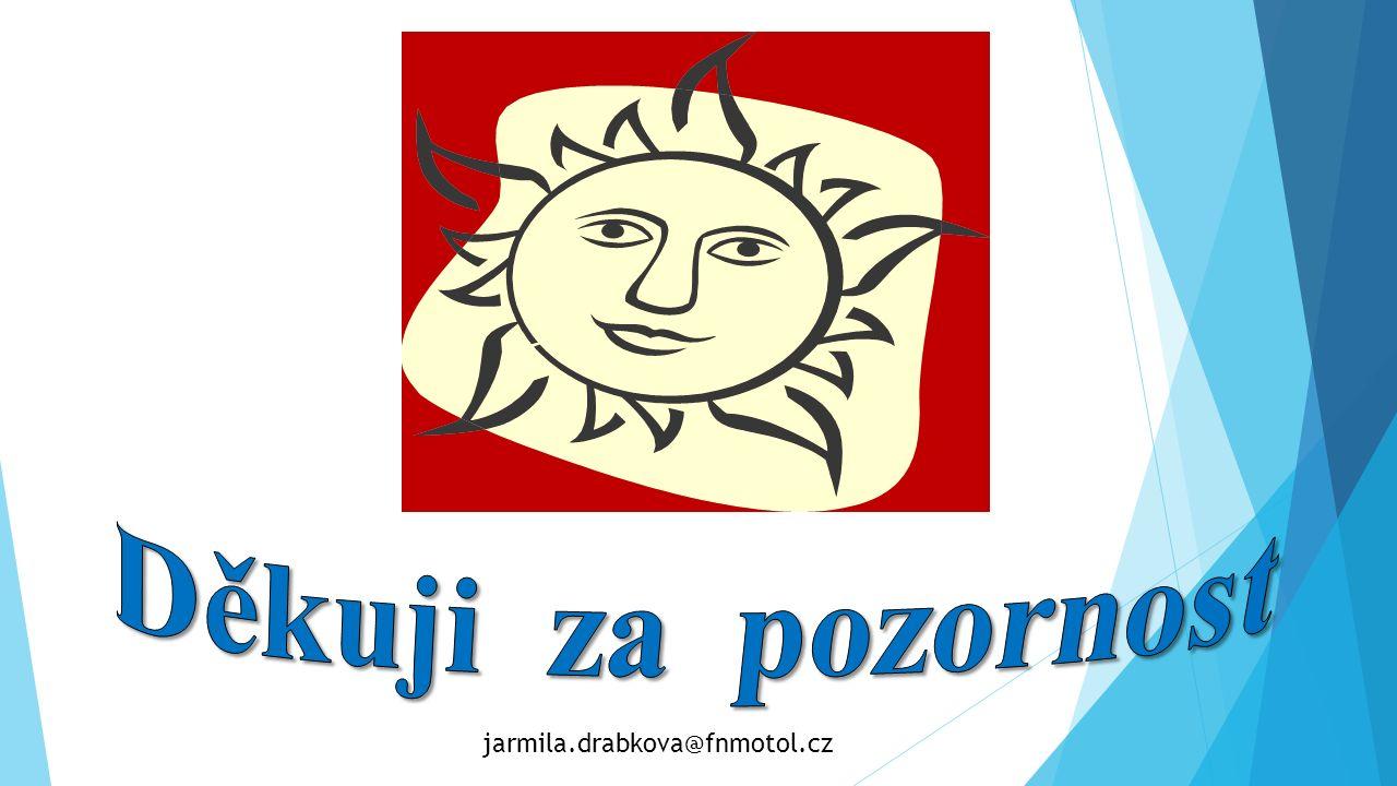 Děkuji za pozornost jarmila.drabkova@fnmotol.cz