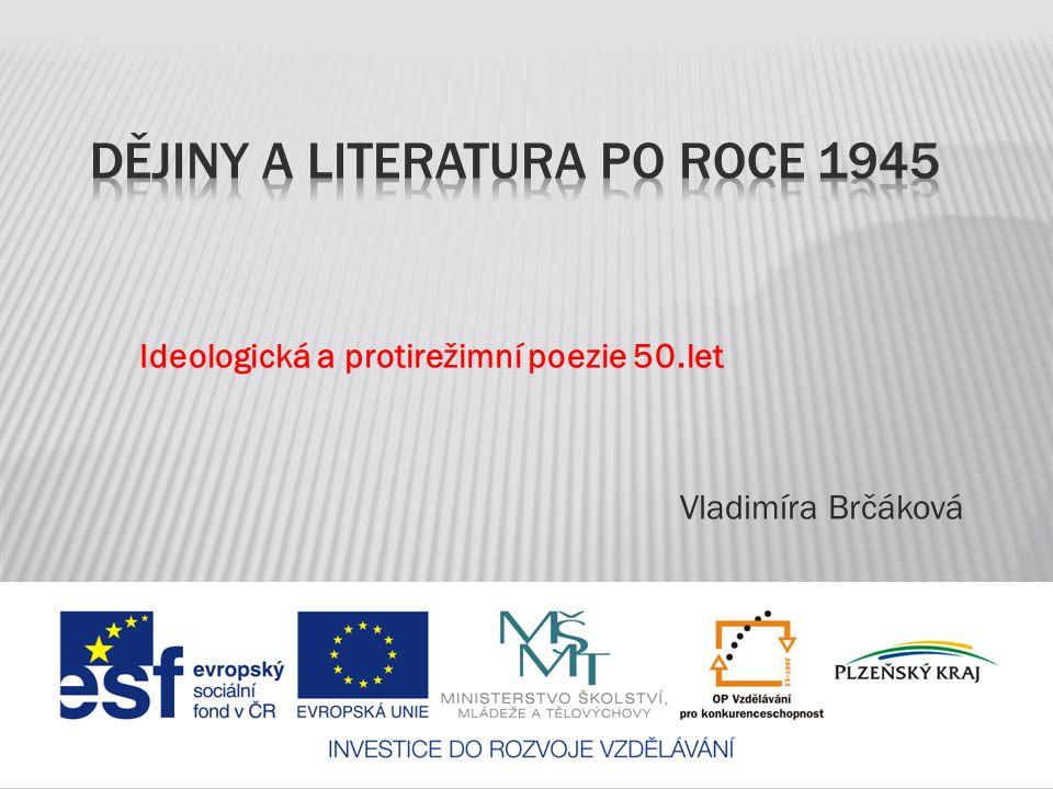 Dějiny a literatura po roce 1945