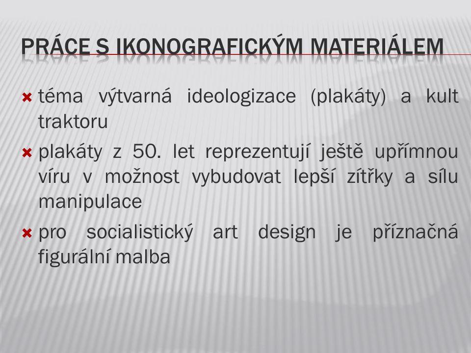 práce s ikonografickým materiálem