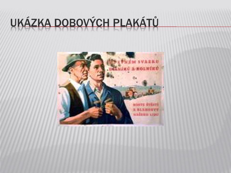 Ukázka dobových plakátů