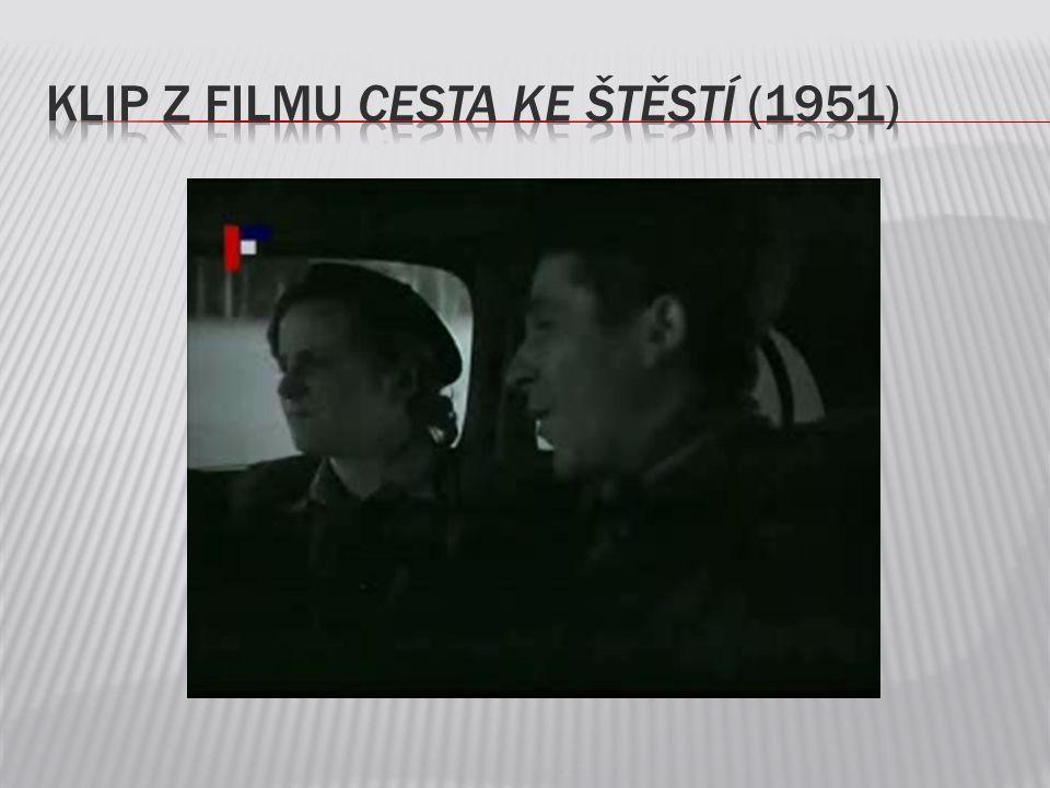 Klip z filmu Cesta ke štěstí (1951)