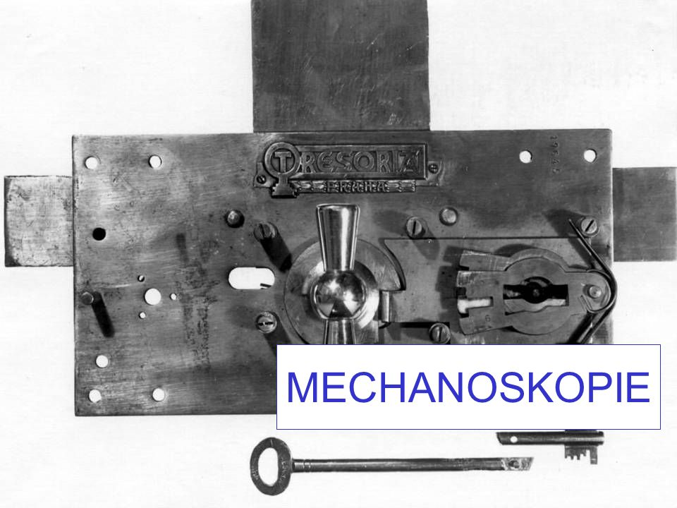 MECHANOSKOPIE