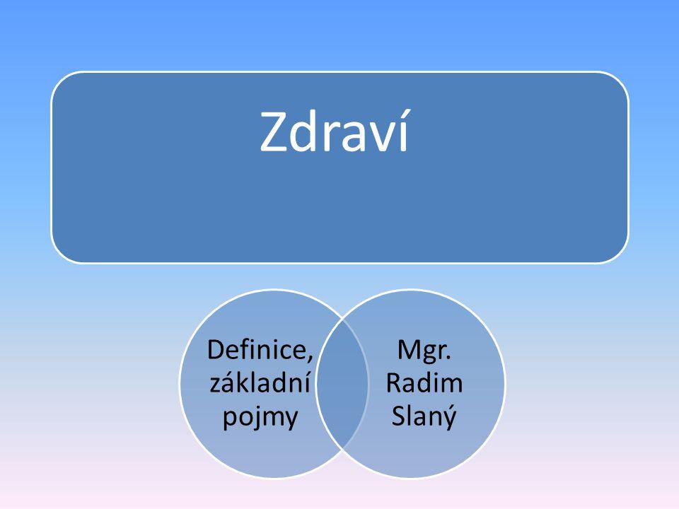 Definice, základní pojmy