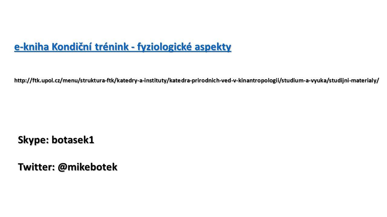 e-kniha Kondiční trénink - fyziologické aspekty