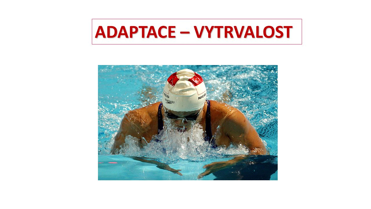 ADAPTACE – VYTRVALOST