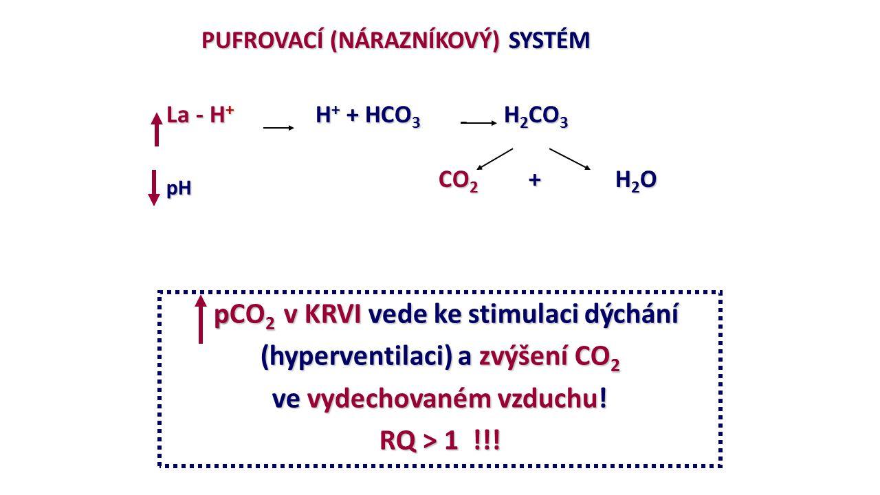(hyperventilaci) a zvýšení CO2 ve vydechovaném vzduchu!