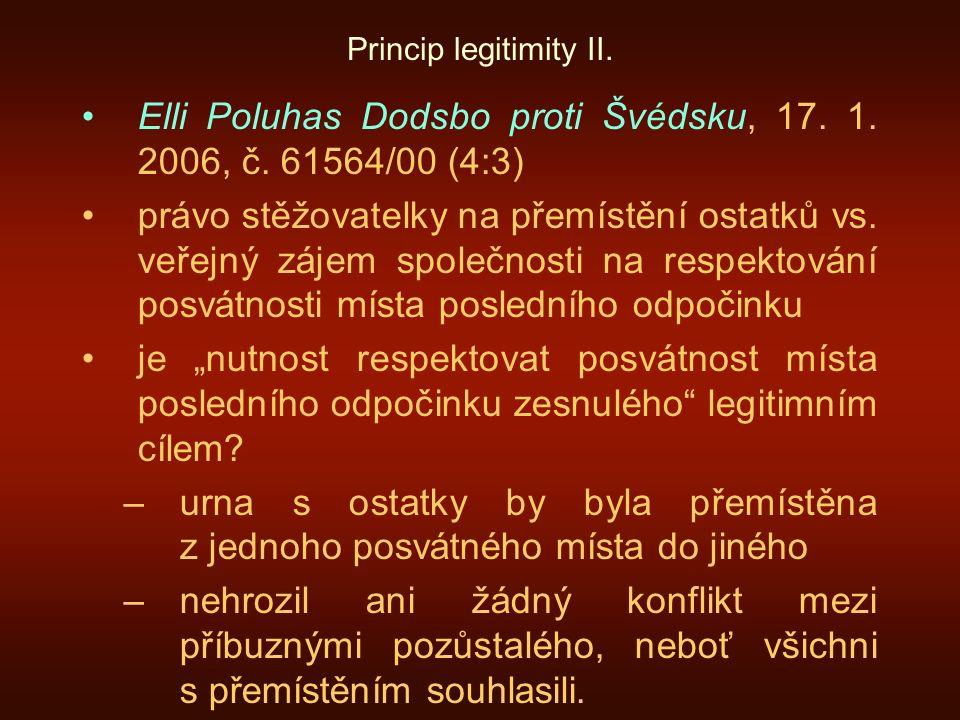 Elli Poluhas Dodsbo proti Švédsku, 17. 1. 2006, č. 61564/00 (4:3)