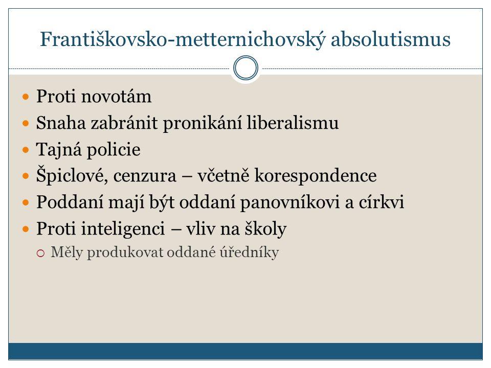 Františkovsko-metternichovský absolutismus