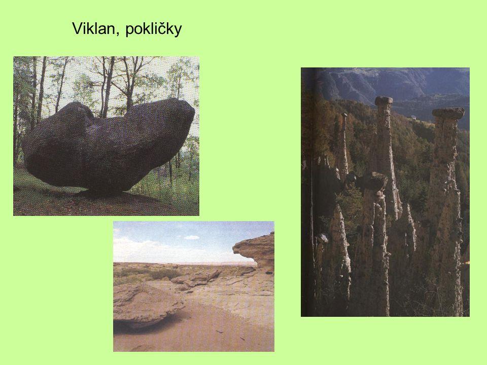 Viklan, pokličky