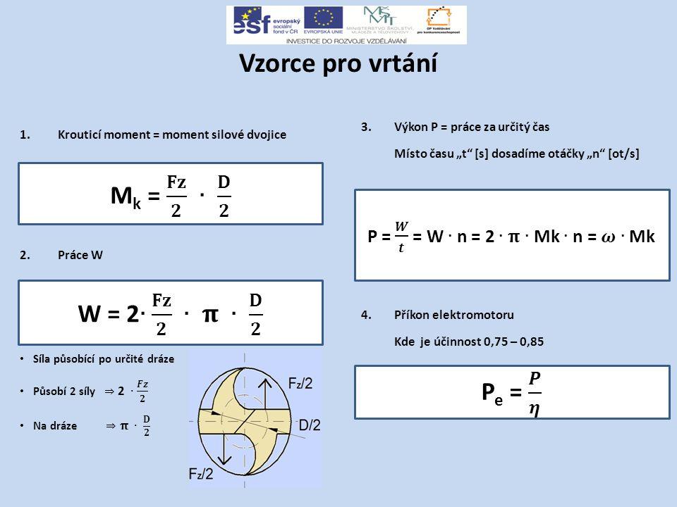 P = 𝑾 𝒕 = W ∙ n = 2 ∙ 𝛑 ∙ Mk ∙ n = 𝝎∙ Mk