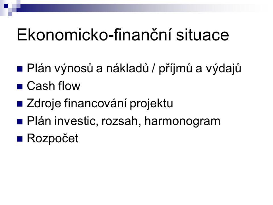 Ekonomicko-finanční situace