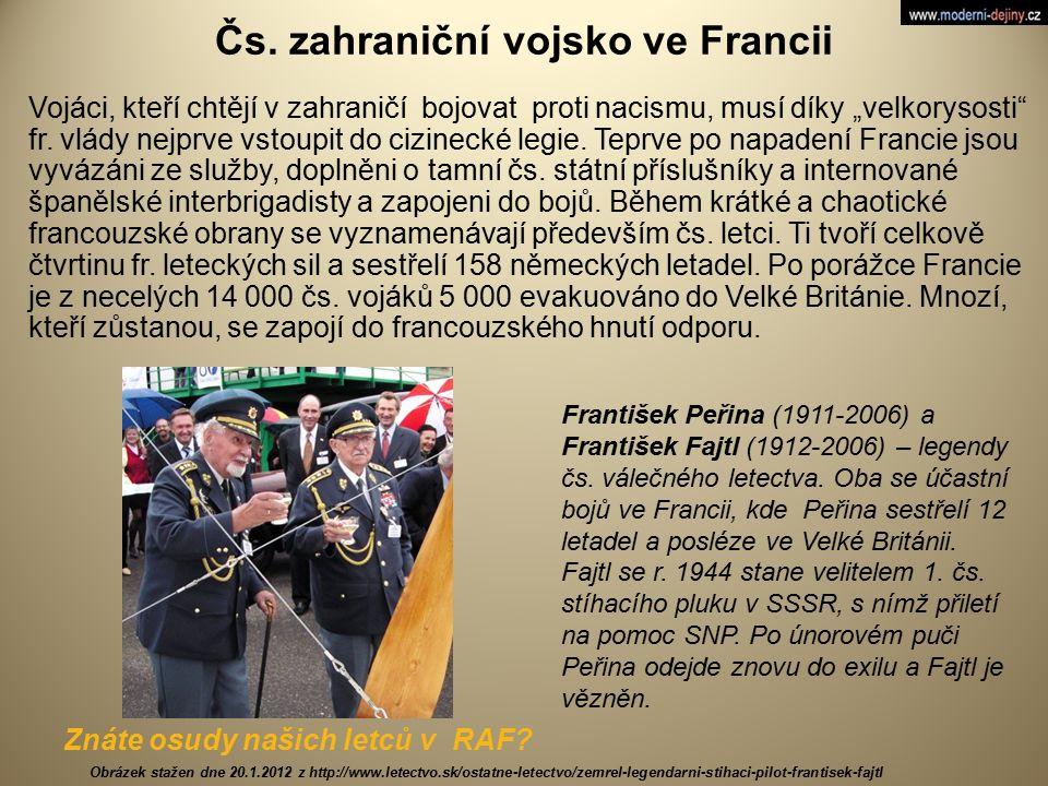 Čs. zahraniční vojsko ve Francii