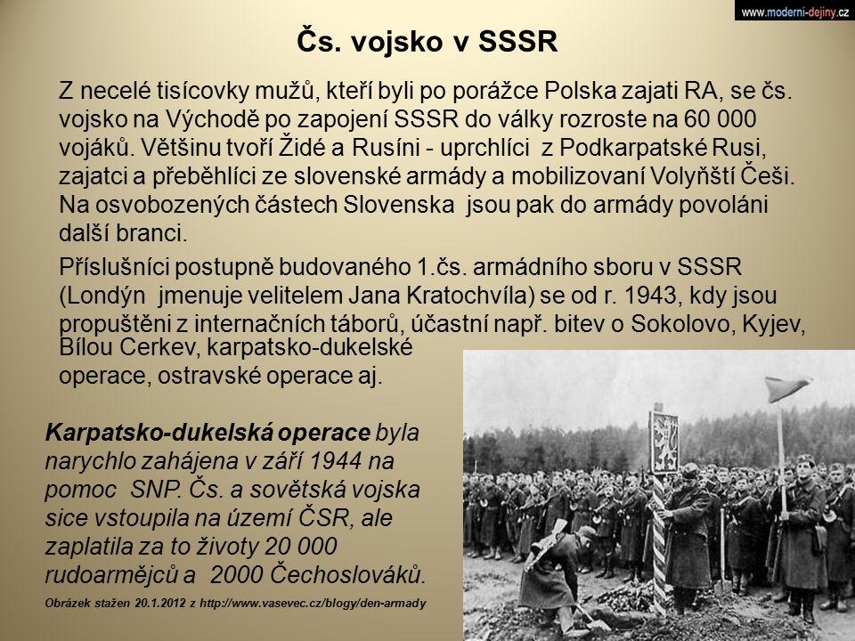 Čs. vojsko v SSSR
