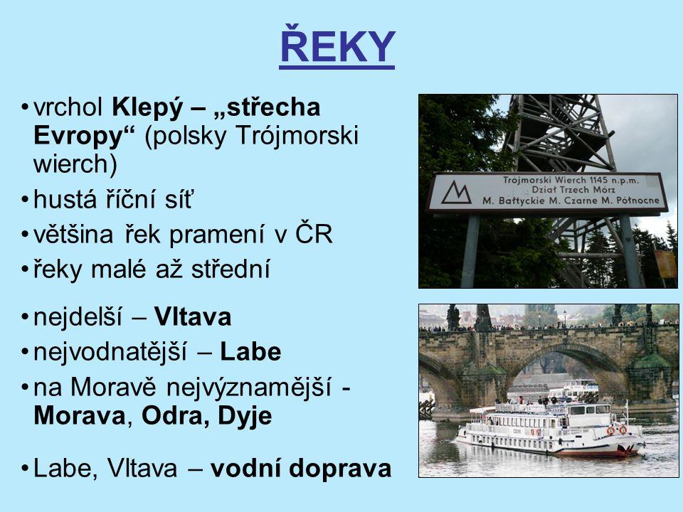 """ŘEKY vrchol Klepý – """"střecha Evropy (polsky Trójmorski wierch)"""