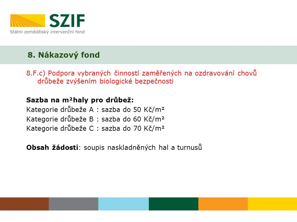 8. Nákazový fond