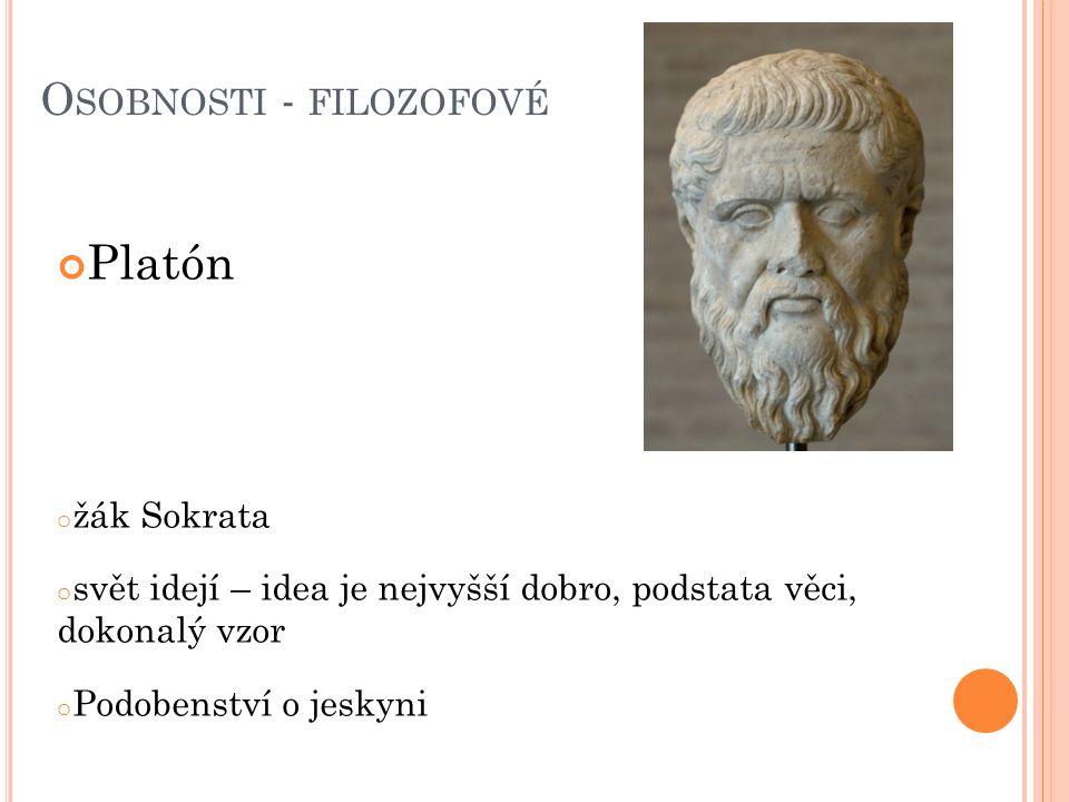 Osobnosti - filozofové