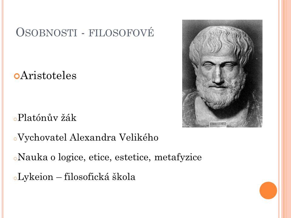 Osobnosti - filosofové