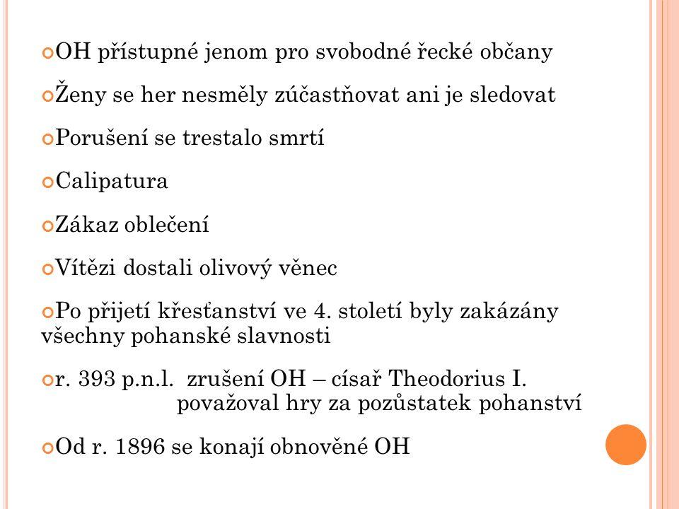 OH přístupné jenom pro svobodné řecké občany