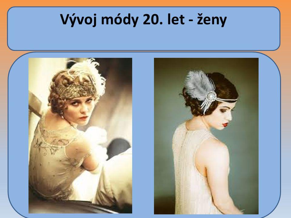 Vývoj módy 20. let - ženy