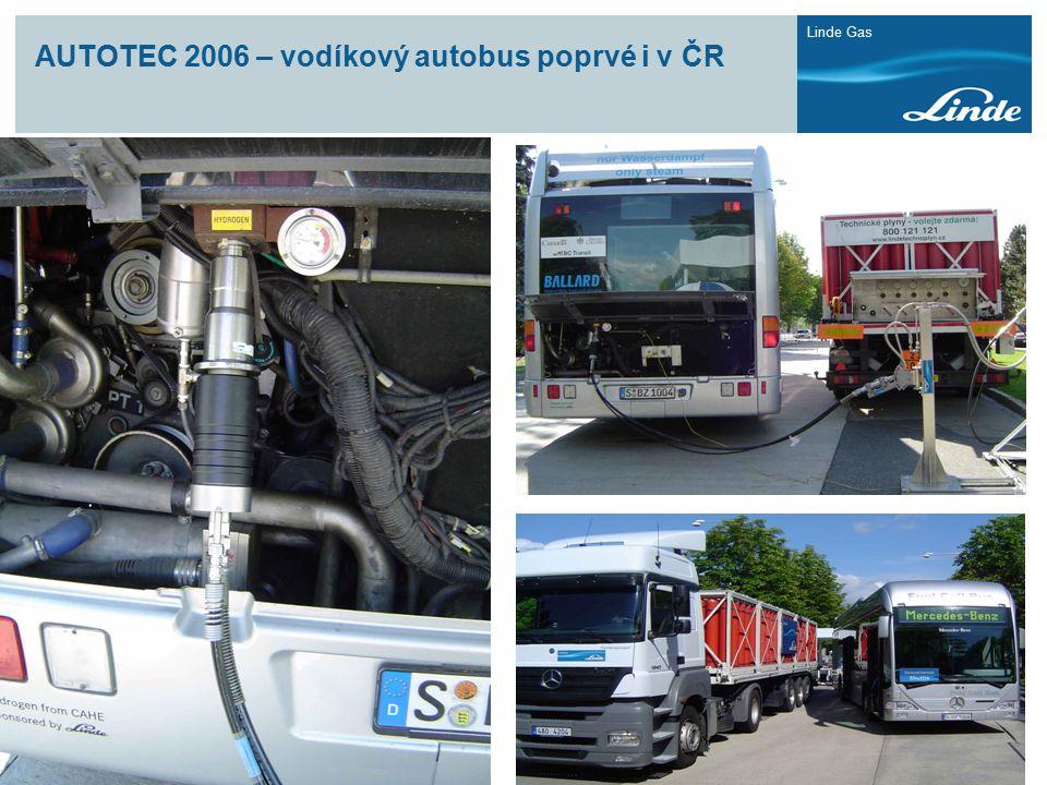 AUTOTEC 2006 – vodíkový autobus poprvé i v ČR