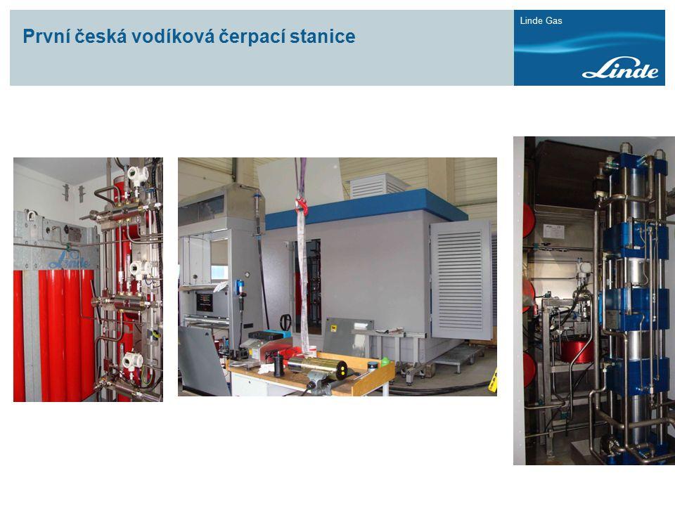 První česká vodíková čerpací stanice