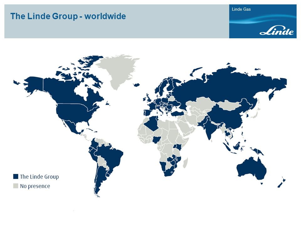 The Linde Group - worldwide