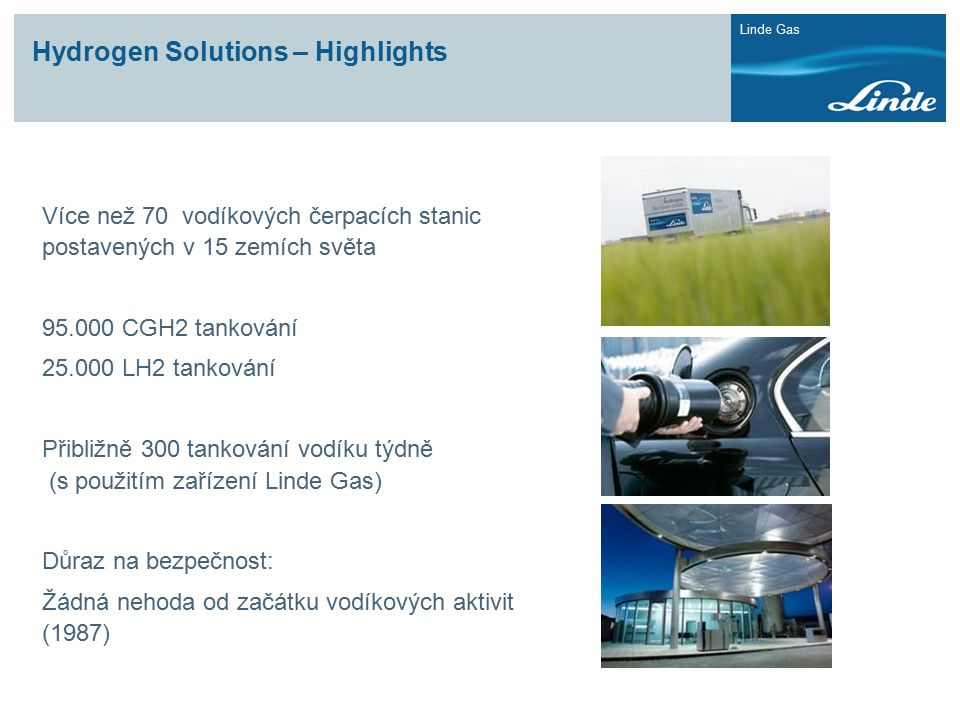 Hydrogen Solutions – Highlights