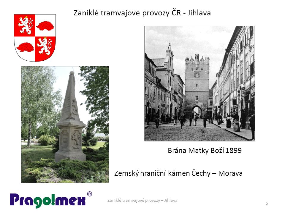 Zaniklé tramvajové provozy ČR - Jihlava