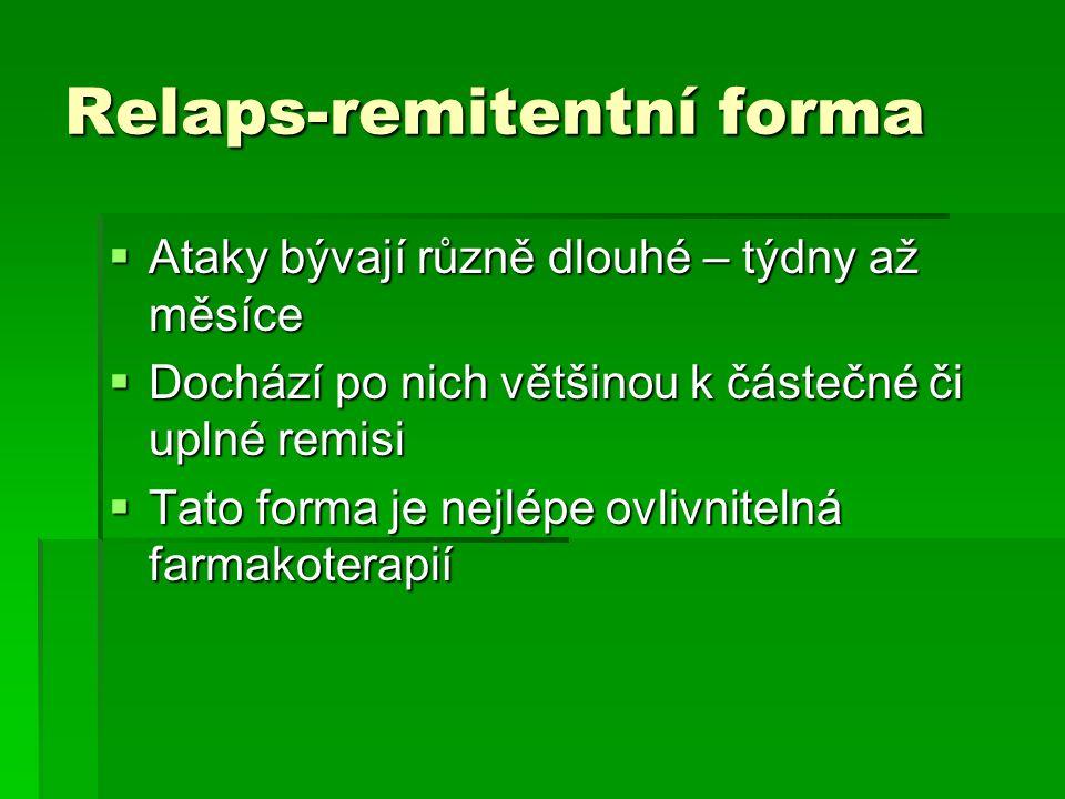 Relaps-remitentní forma