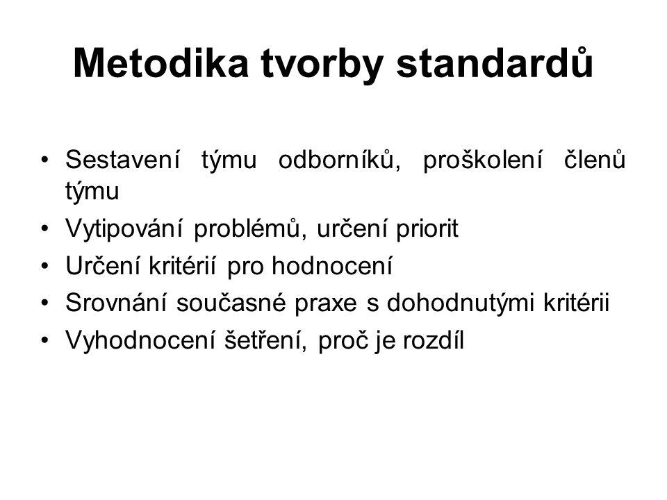 Metodika tvorby standardů