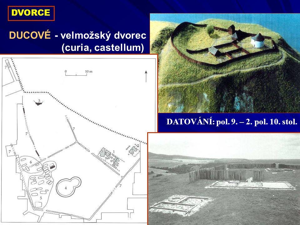 DUCOVÉ - velmožský dvorec (curia, castellum)