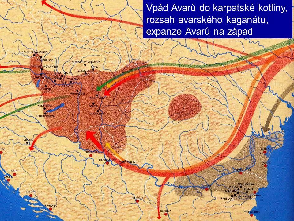 Vpád Avarů do karpatské kotliny,