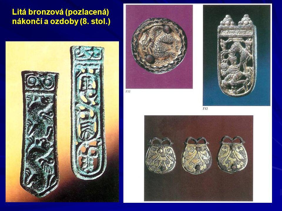 Litá bronzová (pozlacená)