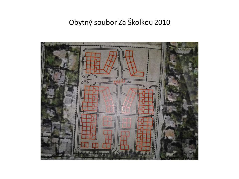 Obytný soubor Za Školkou 2010