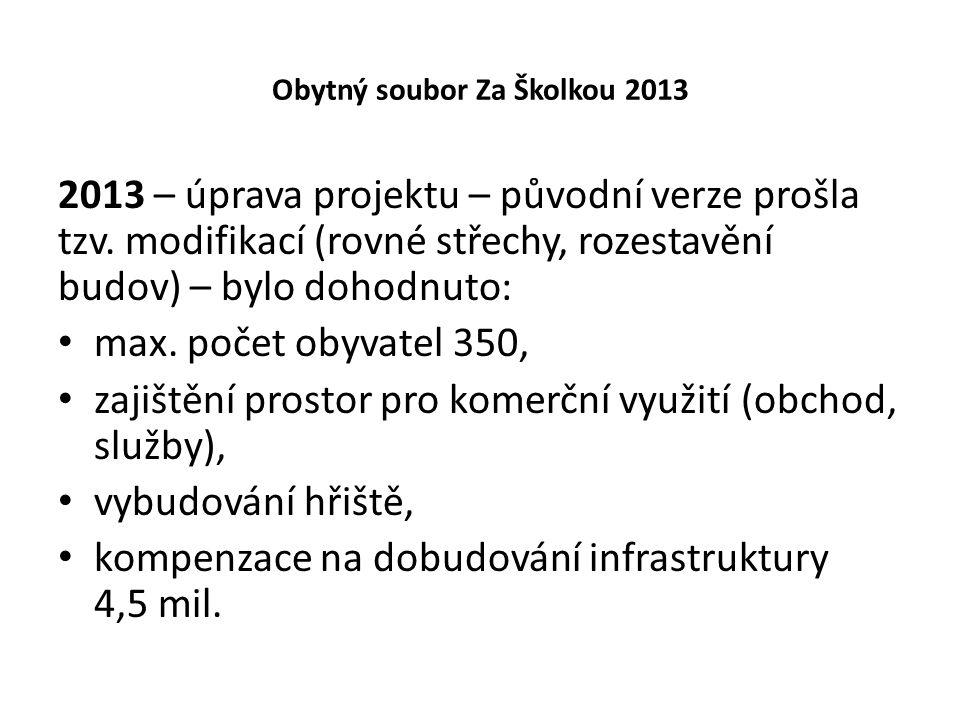 Obytný soubor Za Školkou 2013