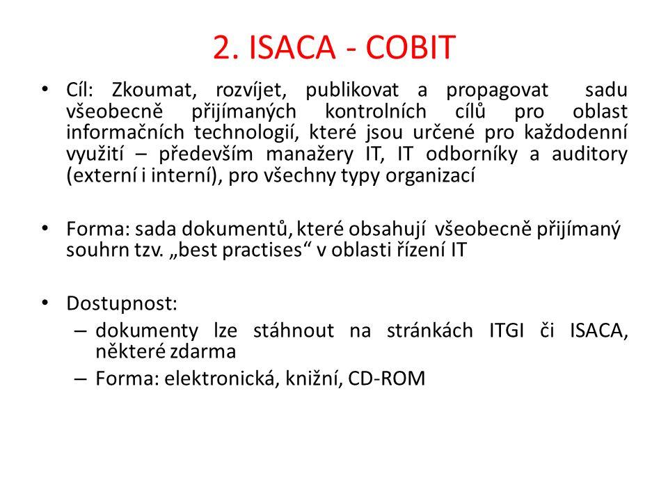 2. ISACA - COBIT