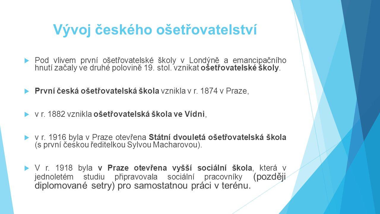 Vývoj českého ošetřovatelství