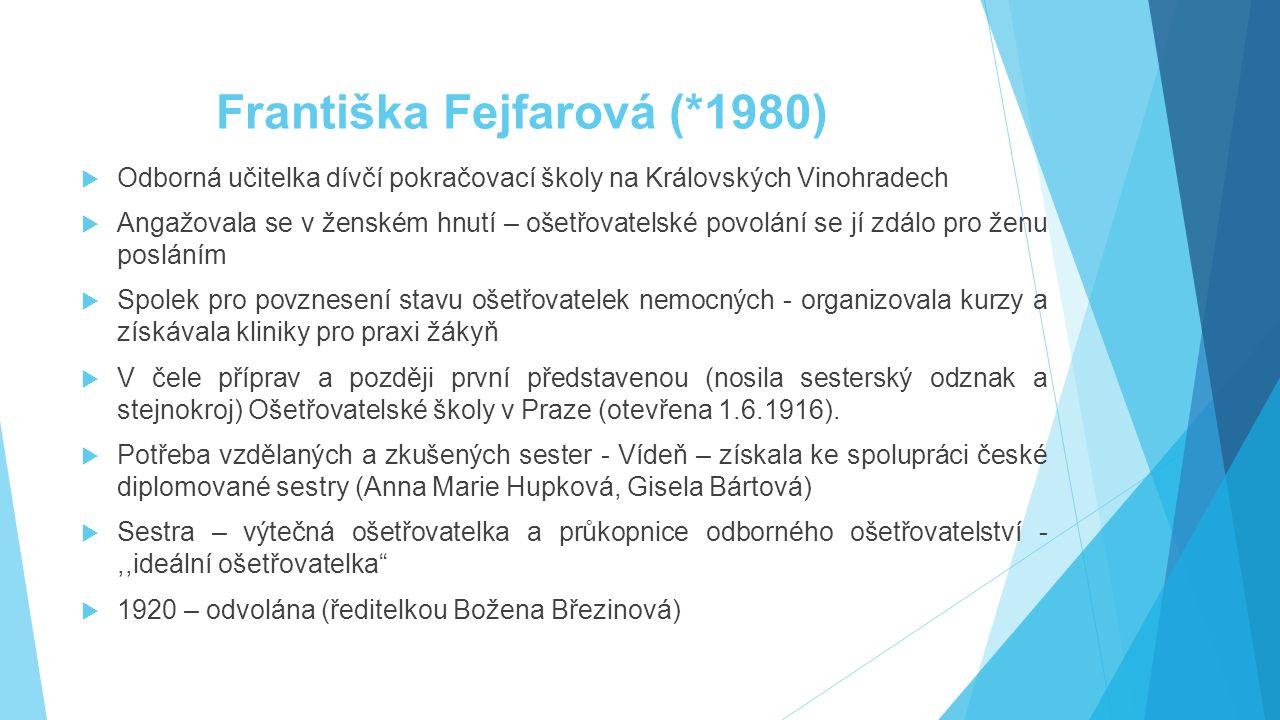 Františka Fejfarová (*1980)